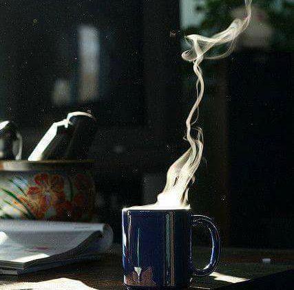 The silence of sweet companionship..