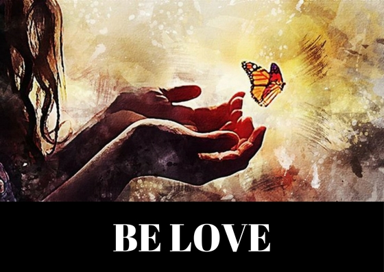 Be Love Post Card