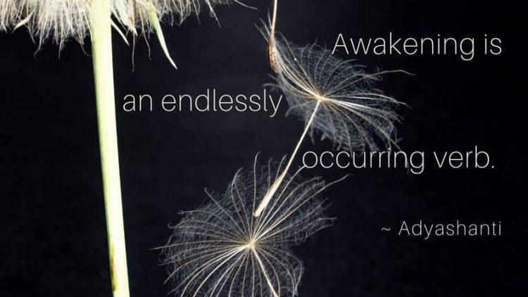 AWAKENING: THE CONTINOUS OCCURANCE
